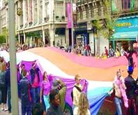Парад содомитов в Дублине